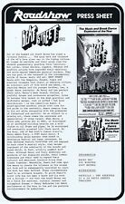 BEAT STREET Original Vintage Australian Movie Press Sheet Breakdance