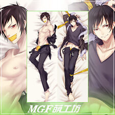 Anime DRRR DuRaRaRa Orihara Izaya Pillow Case Cover Hugging Body cosplay