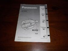 PANASONIC NV-S90B RARE ORIGINAL UK INSTRUCTION MANUAL BOOK INSTRUCTIONS S90 VHSC