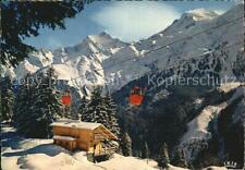 12609644 La_Clusaz Seilbahn mit Holzhaus La_Clusaz