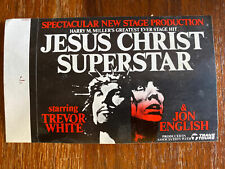 Jesus Christ Superstar Jon English Trevor White Rare Sticker