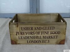 Nr.C11B Vintage Box ~ Leadenhall Market London~Wooden Box~Shabby Chic