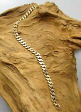 Wert 1500,- Gold Panzer - Armband aus 585 / 14KT Gelbgold Armband Damen & Herren