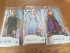 3 Muñecas Congelada Elsa Anna Y Kristoff Todo Nuevo