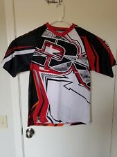 NWT Dakine Descent Short Sleeve Jersey Men's Size Large Black Red White