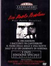 Pier Paolo Pasolini (Box 5 DVD) Edizione Speciale Introvabile rarissimo