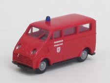 """DKW F 89 L Bus in rot """"Feuerwehr Frankfurt"""" ohne OVP, Praliné, 1:87"""