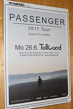 Passenger Tourplakat/Tourposter 2017 -  NEU - Tollwood München 26.06.2017