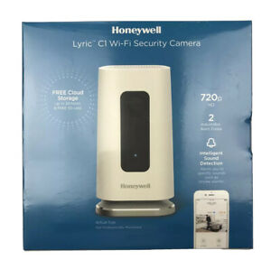 Honeywell Lyric Indoor C1 Wi-Fi Security Camera With Night Vision NEW SEALED
