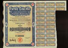 PATHE CINEMA FRERES PARIS FRANCE 1930 Phonograph Camera Makers Film Movie Radio