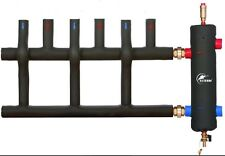 """Low Loss Header 1""""  40kW Coated + 3 Way INSULATED MANIFOLD - 1"""""""