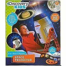 Projector Stars Planet Space 2 in 1 Educational Discovery Kids Boys and Girls
