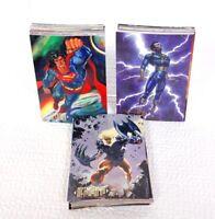 DC COMICS MASTER SERIES 1994 SKYBOX Set Of 90 Collectible Cards