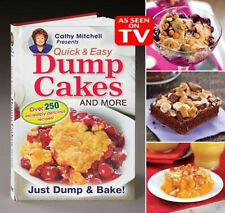 Dump Cakes Cathy Mitchell Quick & Easy Dessert Recipe Book As Seen on TV