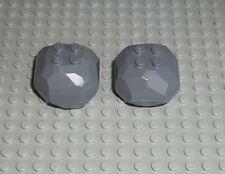 LEGO 2x Stein 30294 30293 grau dk grey Rock Stone Fels 2509 4204 7631 LMS1