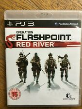 Operation Flashpoint: Red River (unsealed) - PS3 UK Release New!