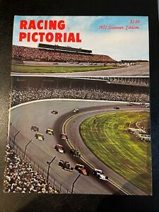 Racing Pictorial Magazine 1972 Summer Edition Indianapolis 500 Cover
