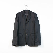 new mens THE VIRIDI-ANNE black ramie tailored blazer jacket size 3 / S / XS