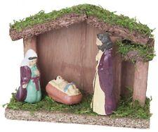 3 Piezas 12 x 4.5 9cm Navidades Juego RELIGIOSO Educacional Escena FIGURA
