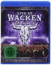 Live At Wacken 2013 - Live At Wacken 2013 (3 Blu-Ray) PLG UK CATALOG