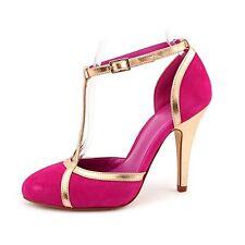 NEU TRUTH or DARE by MADONNA Damen Wildleder Rosa Gold Pumps Sandale Schuhe 38.5