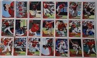 2010 Topps Series 1 & 2 Houston Astros Team Set of 21 Baseball Cards