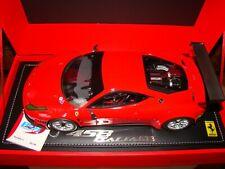 FERRARI 458 ITALIA GT3 2011 ROSSO SCUDERIA   BBR 1/18EMELIMITED 50 PCS TRES RAR