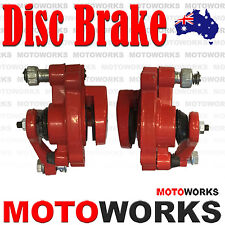 Front Rear Disc Brake Caliper Pads 49cc ATV Quad Dirt Mini Pocket Rocket Bike