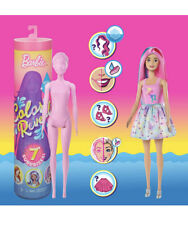 Barbie Color Reveal Doll 7 Surprise Blind Mystery Color Change Doll New - Sealed