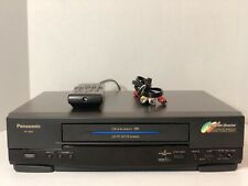 Panasonic Pv-4652 Omnivision 4 Head Hi-Fi Vcr Vhs Player With Remote Tested