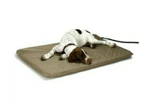 """K + H Lectro-Soft Heated Pad Bed Large with Cover 25"""" x 36"""" Outdoor /Indoor"""