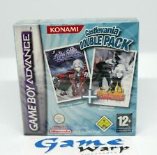 Castlevania Harmony of Dissonance + Aria of Sorrow DOUBLE PACK (GBA) BRAND NEW