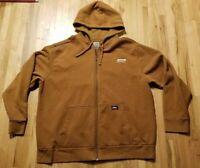 Réduit Dickies Workwear 2-tone Zip Hoody Veste Travail Pull Sweat