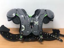 New listing XTECH X2 Football Adult Shoulder Pad, High Performance w Ribguard