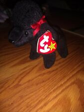 Ty Beanie Baby GiGi Poodle- Rare-Retired With Multiple Errors