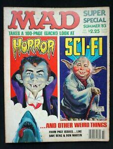 Mad Magazine : Mad Super Special  Summer 1983 - Alfred E Neuman - Vintage - RARE