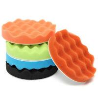 "5Pcs 6 Inch Sponge Buffing Polishing Pad Kit for Car Polisher 150mm UK ""+"