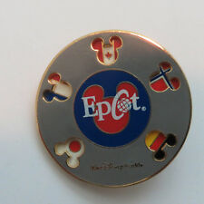 Disney WDW - Epcot Flags Spinner Pin