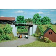 AUHAGEN HO scale ~ 'SHORT RAIL BRIDGE' ~ plastic model kitset #11428