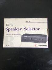 Radio Shack Stereo Speaker Selector Four-Way 40-244