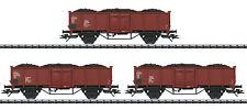 Trix H0 24434 Kohlewagen-Set der DR mit echter Braunkohle Neu