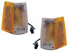 86-93 Mazda Pickup Left & Right Corner Light Sidemarker Lamp Assembly Pair L+R