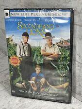 Secondhand Lions (DVD, 2004, Full & Widescreen) Michael Caine Robert Duvall New