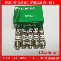 1PCS CC Class Fast Ceramic Fuse Fuse 10*38 KLKR 30A 600V