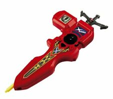 Takara Tomy Beyblade BURST B-94 Digital Sword Launcher (Red Color)