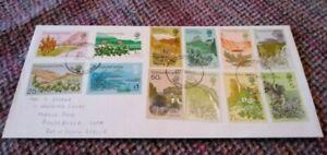 Tristan da Cunha 1972 Definitives - First Day