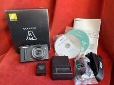 Nikon COOLPIX A 16.2MP DX APS-C Digital Camera - Black, in Box with Accessories