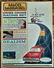 VINTAGE 1962 AURORA HO SLOT CAR CRISS CROSS RACING SET ADVERTISEMENT