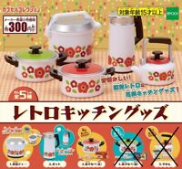 J.Dream Capsule toys Gashapon Mini Kitchen Scale Clock Part 2 Full Set 5 pieces