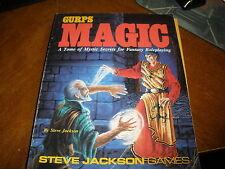 MAGIC - GURPS 6023 Steve Jackson Games MYSTIC SECRETS RPG SUPPLEMENT SOURCEBOOK